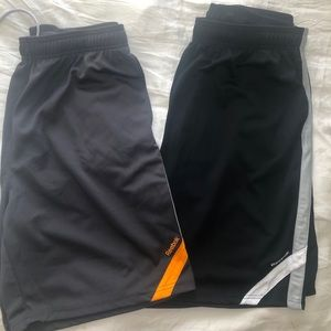 Two Pairs of Reebok Men's Athletic Shorts